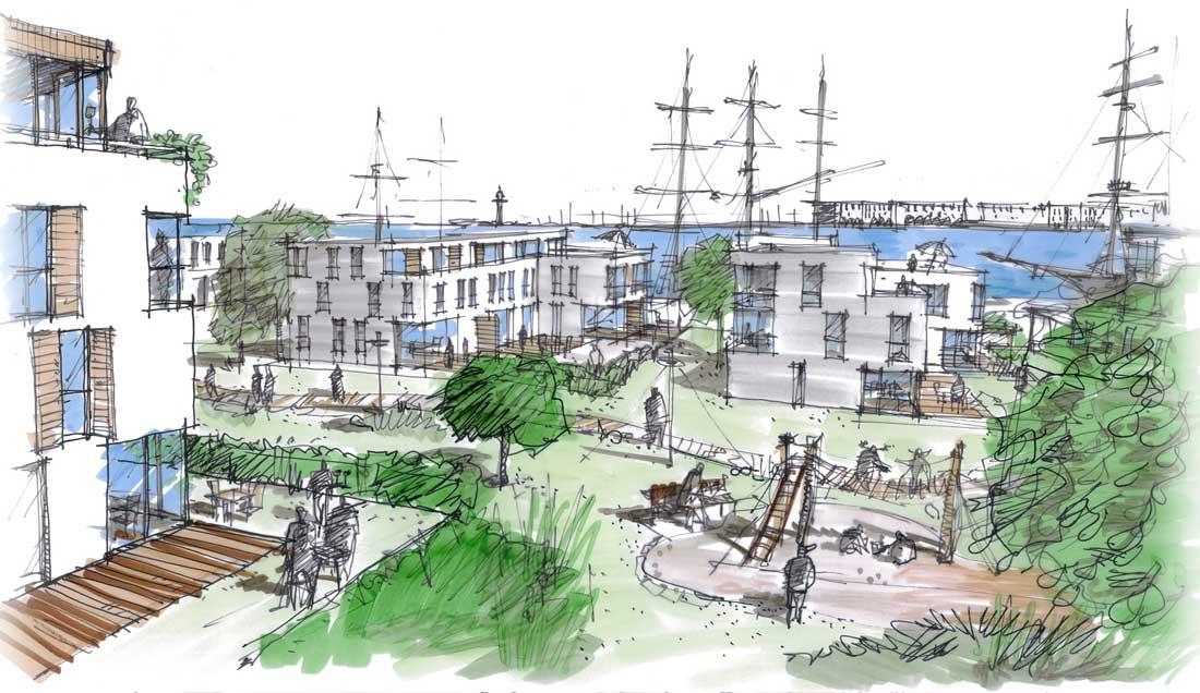 Architekten rostock hamburg bastmann zavracky for Parken in warnemunde